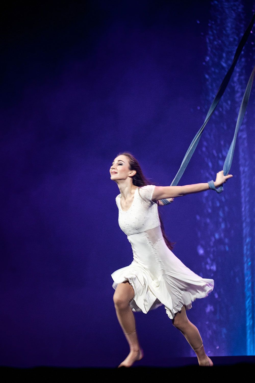 Veronika Teslenko Aerial Straps
