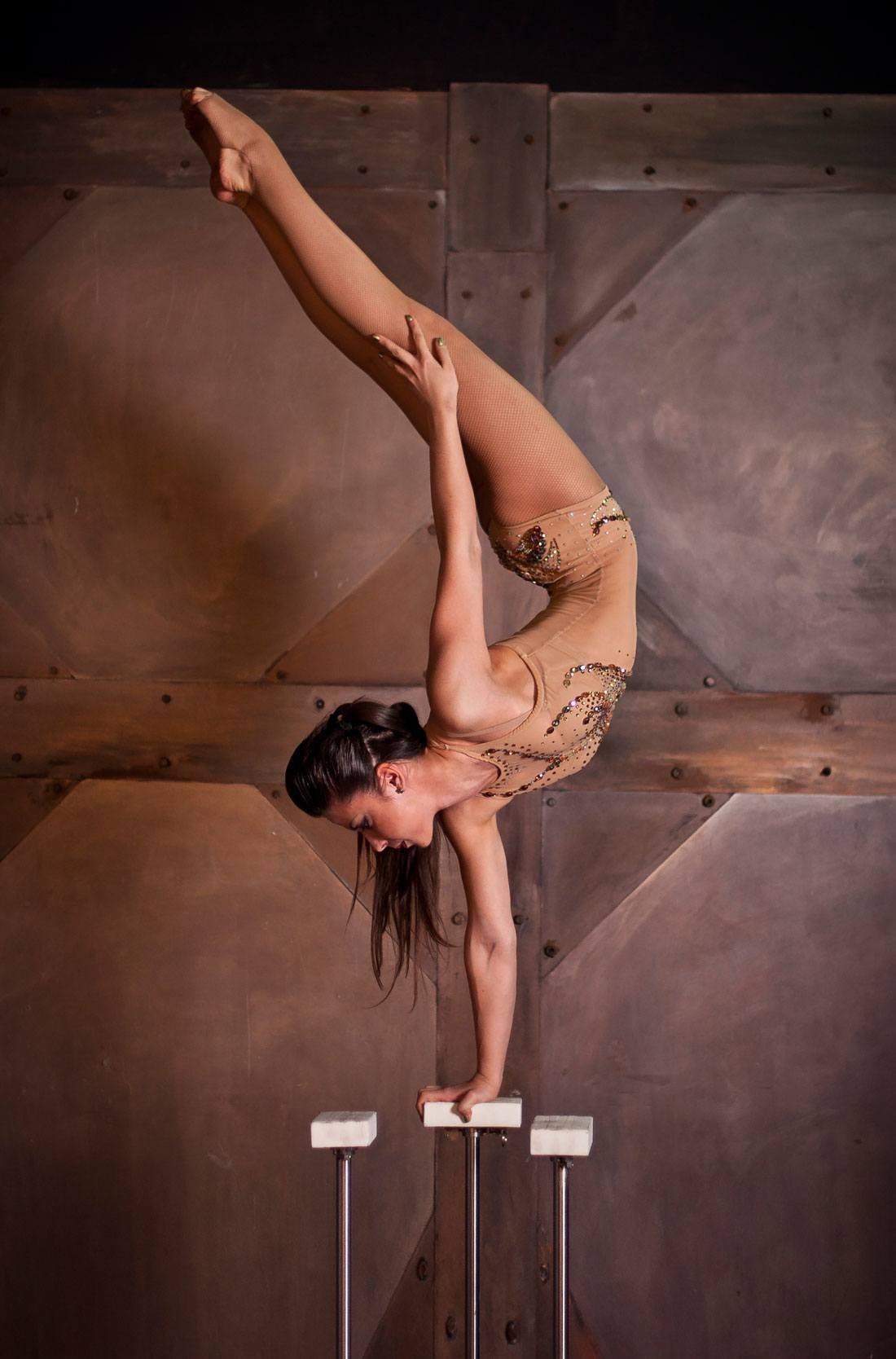 Rimma Griadunova equilibrist