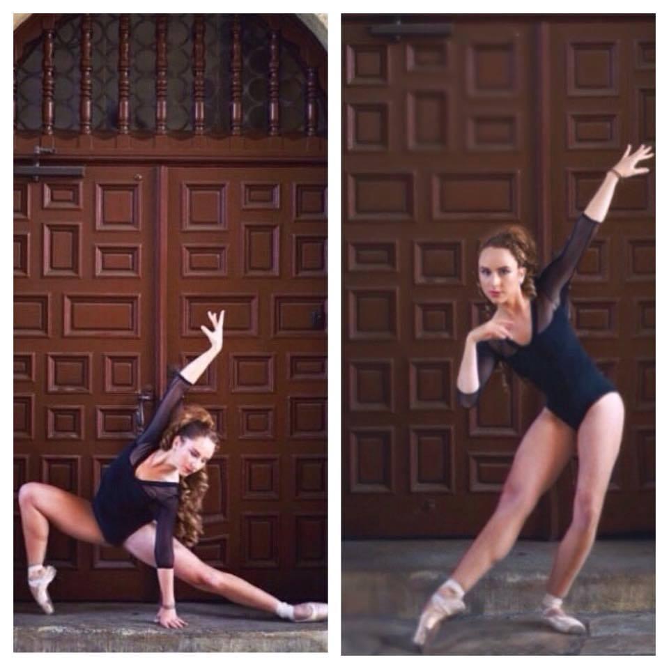 Ballet exercises Severine Reisp
