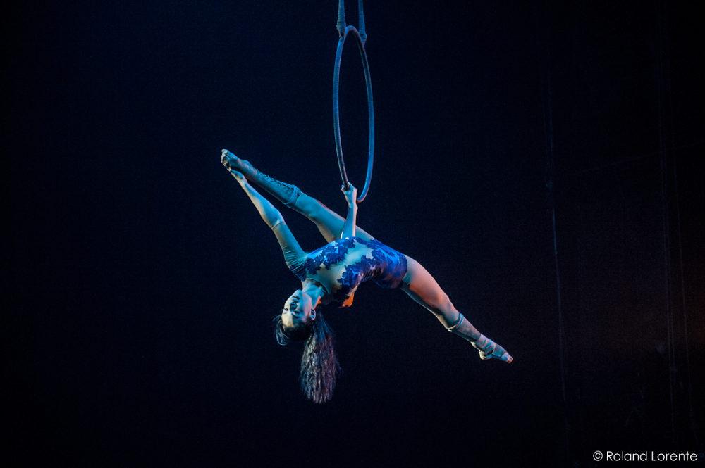 Thula Moon Épreuve synthèse 2015 à l'École nationale de cirque de Montréal.