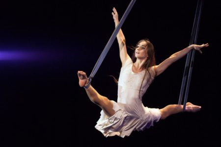 Meet a Stunning Aerial Straps Contortionist and Champion