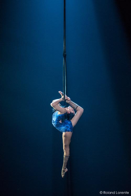 Épreuve synthèse 2015 à l'École nationale de cirque de Montréal.